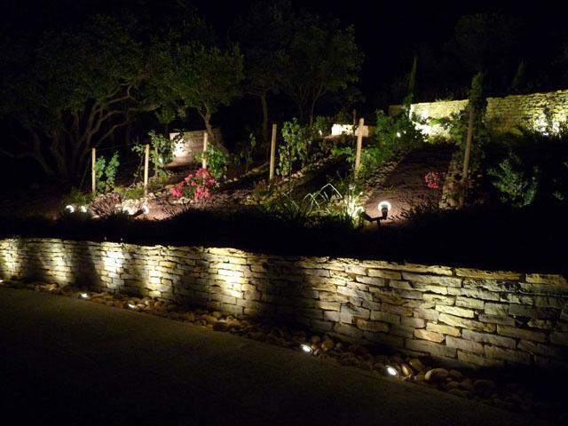 Del vigne etude ecl exterieur for Eclairage exterieur de jardin